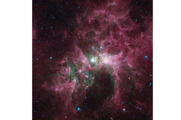 NGC 3372, туманность Эты Киля