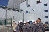 Чернобыльскую АЭС посетил министр иностранных дел Франции