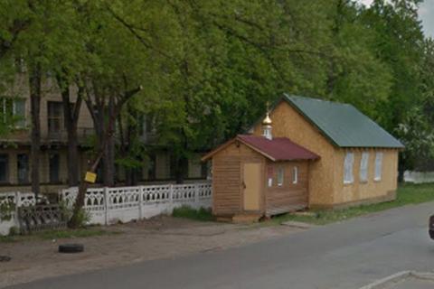 В Киеве подожгли деревянную церковь УПЦ МП