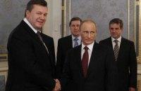 Янукович поздравил Путина с днем рождения