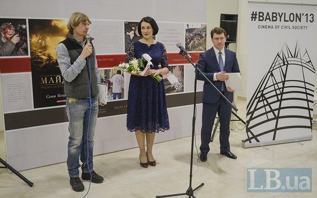 Слева - фотокорреспондент LB.ua Макс Левин