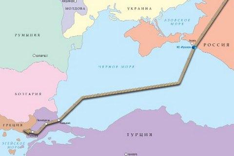 """""""Газпром"""" вибрав швейцарського підрядника для будівництва """"Турецького потоку"""""""