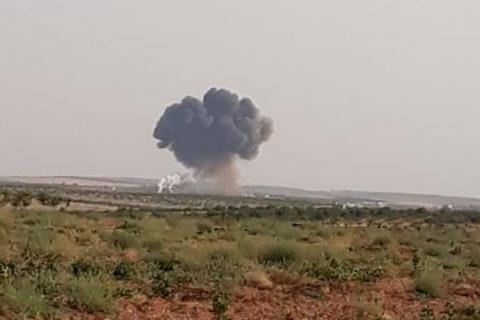 Сирійські повстанці збили бойовий літак армії Асада