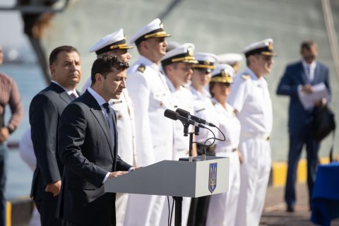 Зеленський підписав таємне рішення про розвиток військового флоту