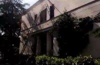 В оккупированной Ялте горело здание администрации морпорта