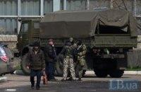 Транспортная колонна боевиков выдвинулась из Горловки в Енакиево