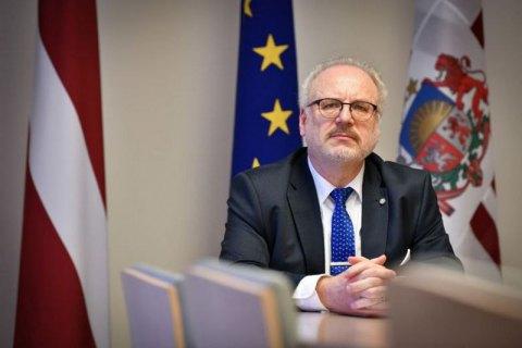 Президент Латвии примет участие в саммите Крымской платформы