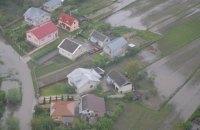 Уровень воды в реках на Закарпатье и Прикарпатье начал спадать