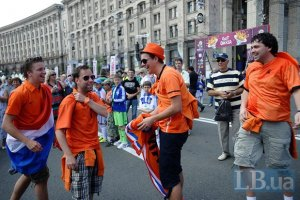 Болельщики массово прибывают в Украину, - МВД