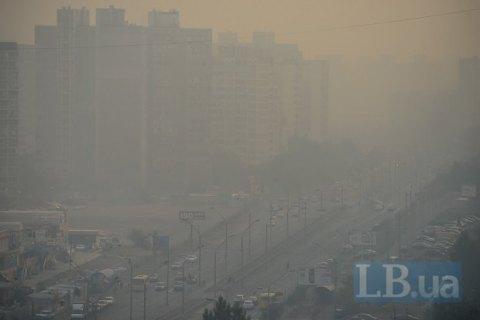 У київському повітрі вміст сірки перевищує норму в 5-8 разів