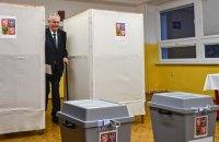 У Чехії починається другий тур президентських виборів