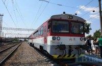 """Словакия запустила поезд """"Мукачево - Кошице"""""""