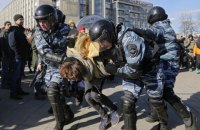 Задержания на митингах против коррупции стали самыми массовыми в России