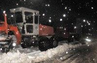 В Хмельницкой области из-за снежных заносов ограничено движение транспорта