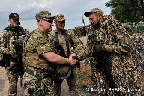 Турчинов сказал, когда завершится вражда вДонбассе