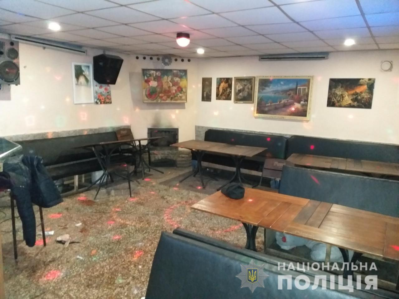 Кафе в Харкові, де стався напад