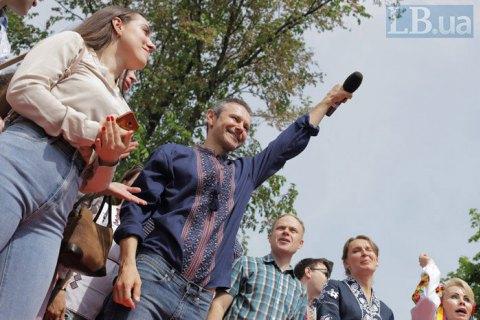 """На виборах у парламент лідирують """"Слуга народу"""", """"Опозиційна платформа"""" і """"Голос"""""""