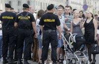 В Беларуси протестовали молча