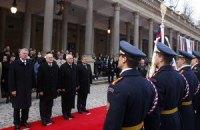 Вышеградская четверка обсудит ситуацию в Украине