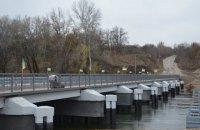В Рубежном восстановили мост через Северский Донец (обновлено)