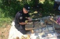 В Ровенской области полиция изъяла один из крупнейших в Украине арсенал боеприпасов