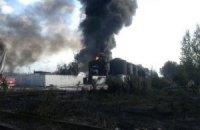 """Керівництво нафтобази """"БРСМ"""" півтори години приховувало пожежу, - МВС"""