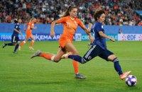 В 1/4 финала женского Чемпионата мира по футболу пробились 7 европейских команд