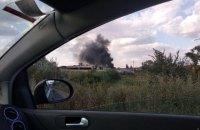 В Одесі в районі нафтопереробного заводу спалахнула пожежа