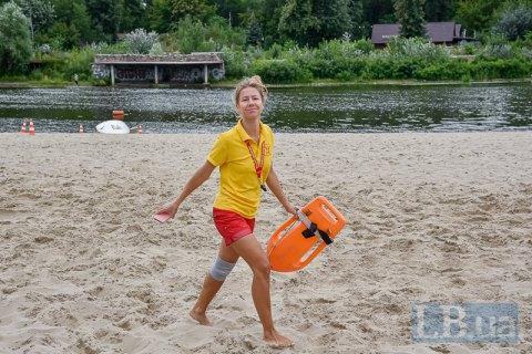 Відсьогодні на усіх муніципальних пляжах Києва заборонено купатися