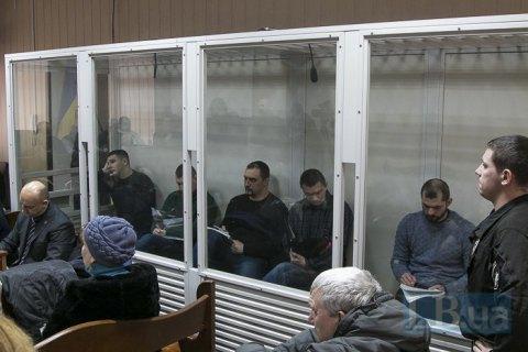"""Екс-""""беркутівців"""", обвинувачених у розстрілах на Майдані, суд залишив під вартою"""