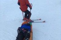 У Карпатах під час катання на лижах травмувалися троє дітей