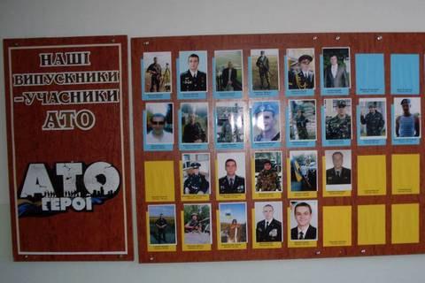Рада рекомендовала повесить в школах и вузах стенды с военными-Героями Украины
