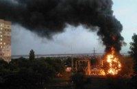 Часть Одессы осталась без электричества из-за пожара на электростанции