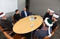 Зеленский встретился с мусульманскими религиозными лидерами Украины