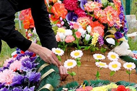 ПЦУ закликала українців відмовитися від штучних квітів на кладовищах