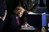 Трамп підписав другий пакет допомоги бізнесу і лікарням на $500 млрд