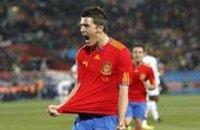 ЧМ 2010: Вилья дублем приносит испанцам первые три очка на турнире