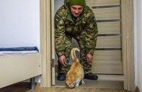 В Старичах открыли новое общежитие для 125 военных и одного кота, - Порошенко