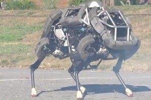 В США усовершенствовали военных роботов