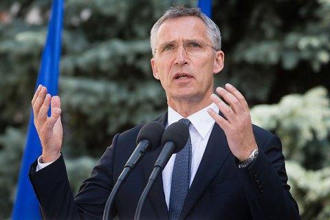 У НАТО підтримали пропозицію України про миротворців на Донбасі