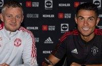 """Сольскьяєр розповів, коли відбудеться дебют Роналду після камбеку до """"Манчестера Юнайтед"""""""