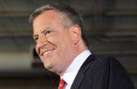 Демократа Билла де Блазио переизбрали мэром Нью-Йорка