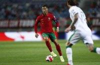 Роналду при виконанні пенальті вдарив рукою в обличчя суперника
