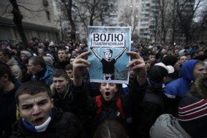 В Харькове задержали 22 участников шествия в поддержку Павличенко