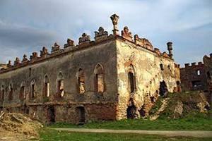 У Хмельницькій області впала стіна замку Меджибожа, побудованого у XVI столітті