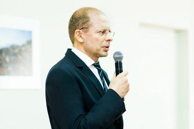 Почетный консул Израиля Олег Вишняков