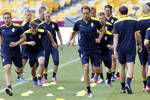 Стал известен состав сборной Швеции на матч с Англией