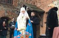 Патриарх Филарет наградил отреставрированный Ольгой Богомолец замок-музей орденом Св. Владимира