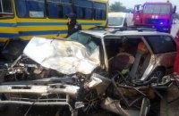 У Львівській області в двох масштабних ДТП постраждали 13 людей