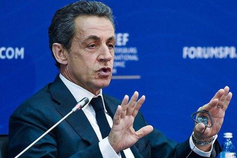 Саркозі покине посаду голови партії заради президентських перегонів